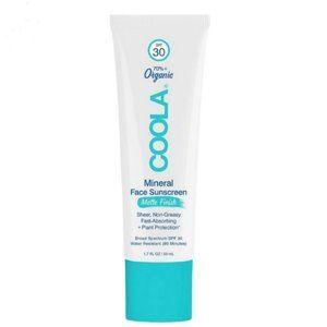 COOLA Organic Mineral Matte Face Sunscreen SPF 30